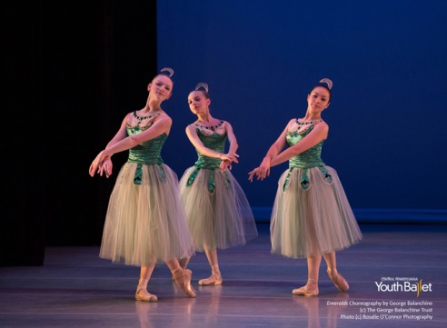 Balanchine's Emeralds CPYB choreography