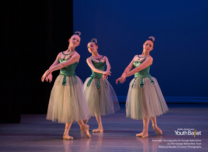 Balanchine's Emeralds CPYB choreography