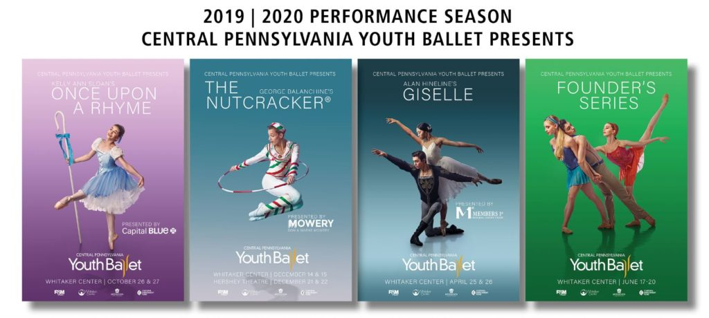 2019 2020 Performance Season Once Upon A Rhyme The Nutcracker Giselle Founder's Series
