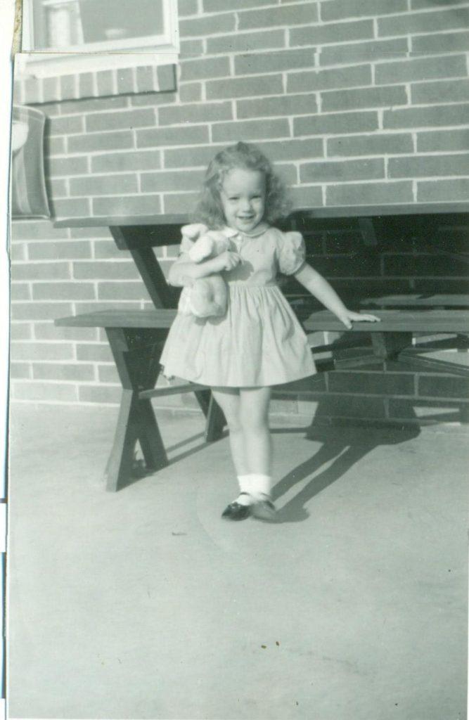 darla as a young girl